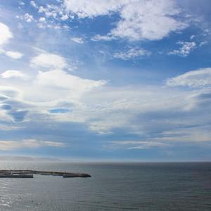 2014/08/23の朝の海