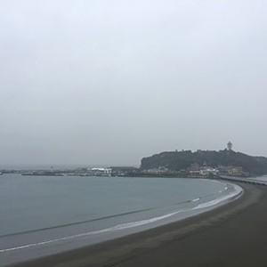 雨の日の江ノ島
