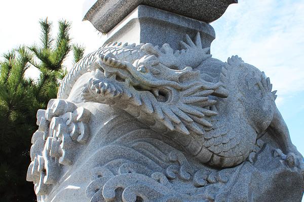 弁天橋の龍神様